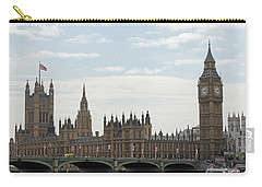 Houses Of Parliament Carry-all Pouch by Tony Murtagh