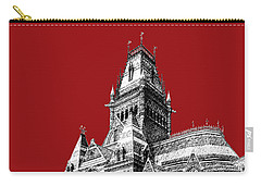 Harvard University - Memorial Hall - Dark Red Carry-all Pouch