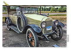 Carry-all Pouch featuring the photograph hudson 1921 phaeton car HDR by Paul Fearn