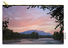 Hudson Bay Mountain British Columbia Carry-all Pouch by Mary Lee Dereske