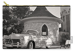 Carry-all Pouch featuring the photograph Hudson Commodore Convertible by Verana Stark