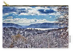 Hudson Valley First Snow Mystic Colors Carry-all Pouch