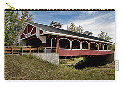 Hueston Woods Covered Bridge Carry-all Pouch