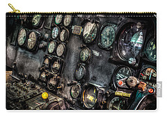 Huey Instrument Panel 2 Carry-all Pouch by David Morefield