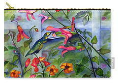 Hummingbird Dance Carry-all Pouch