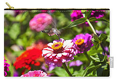 Hummingbird Flight Carry-all Pouch by Garry Gay