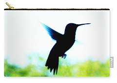 Hummingbird Hover Carry-all Pouch by Lizi Beard-Ward