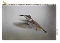 Carry-all Pouch featuring the photograph Hummingbird  by Leticia Latocki