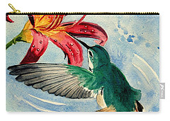 Hummingbird Carry-all Pouch by Melly Terpening
