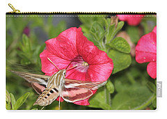 Hummingbird Moth Carry-all Pouch by Tiffany Erdman