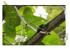 Hummingbird Out On A Limb Carry-all Pouch