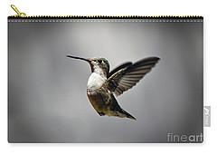 Hummingbird Carry-all Pouch by Savannah Gibbs