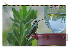 Hummingbird Still Life Carry-all Pouch
