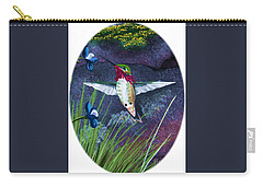Hummingbird Two Carry-all Pouch
