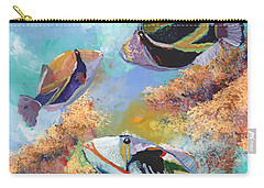 Humuhumu 3 Carry-all Pouch by Marionette Taboniar