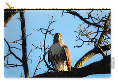 Carry-all Pouch featuring the photograph Hungry by Ally  White