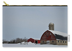 Carry-all Pouch featuring the photograph Hunterdon County Landscape by Steven Richman