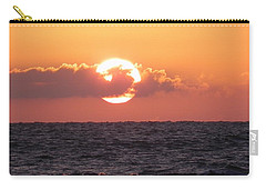 Hunting Island Sunrise Carry-all Pouch