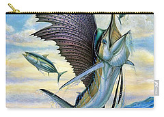 Hunting Of Small Tunas Carry-all Pouch