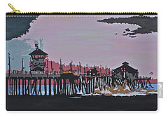Huntington Beach Pier 1 Carry-all Pouch