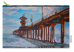 Huntington Beach Pier 2 Carry-all Pouch