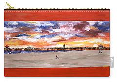 Huntington Beach Pier 3 Carry-all Pouch