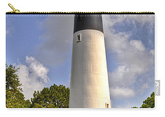 Carry-all Pouch featuring the photograph Huntington Island Lighthouse by Deborah Klubertanz