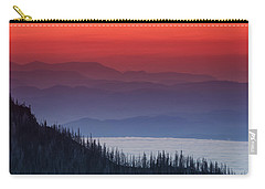 Hurricane Ridge Sunset Carry-all Pouch
