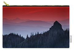 Hurricane Ridge Sunset Vista Carry-all Pouch