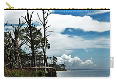 Carry-all Pouch featuring the photograph Hurricane Trail by Faith Williams