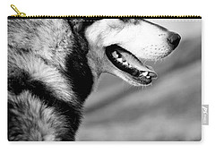 Husky Portrait Carry-all Pouch