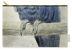 Hyacinthine Macaw Carry-all Pouch by Henry Stacey Marks