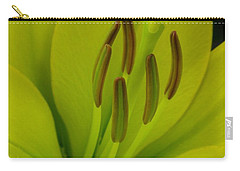 Hybrid Lily Named Trebbiano Carry-all Pouch by J McCombie