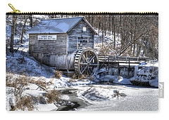 Hyde's  Mill In The Winter Carry-all Pouch