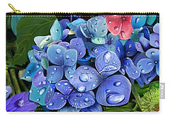 Hydrangea Drift  Carry-all Pouch
