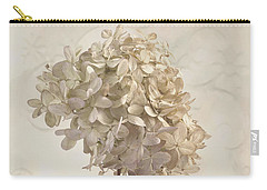Hydrangea Softness Carry-all Pouch by Sandra Foster