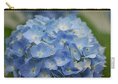 Hydrangea Solitude Carry-all Pouch