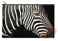 I Am A Zebra Carry-all Pouch