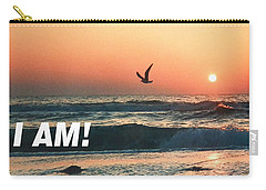 The Great I Am  Carry-all Pouch by Belinda Lee