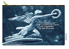 Carry-all Pouch featuring the photograph I Am Determined by Patrice Zinck