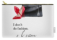 I Am Fashion Carry-all Pouch