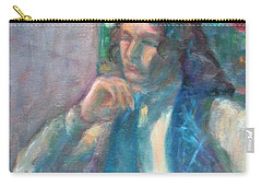 I Am Heathcliff - Original Painting  Carry-all Pouch