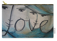 I Am Love  Carry-all Pouch
