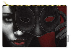 Carry-all Pouch featuring the painting I Am Only What I Allow You To See by Pat Erickson