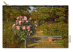 I Am Thankful Thorns Have Roses Carry-all Pouch