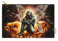 Carry-all Pouch featuring the painting I Believe by Hiroko Sakai