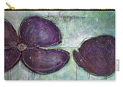 I Can See Home In Your Eyes Poppies Carry-all Pouch