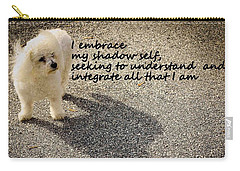 Carry-all Pouch featuring the photograph I Embrace by Patrice Zinck