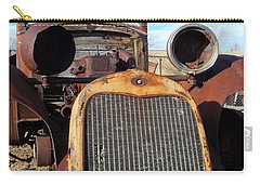 Carry-all Pouch featuring the photograph I Forget The Year - Us 395 by Glenn McCarthy Art and Photography