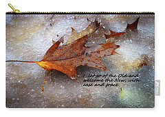 Carry-all Pouch featuring the photograph I Let Go by Patrice Zinck